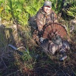 Andy Thompson hunting wild turkey in Florida
