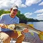 Fishing for snook with Andy Thompson