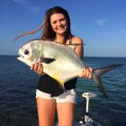 Permit caught in the Florida Keys